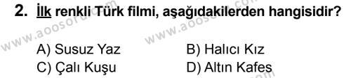 T.C. İnklap Tarihi ve Atatürkçülük 8 Dersi 2012 - 2013 Yılı 3. Dönem Sınavı 2. Soru